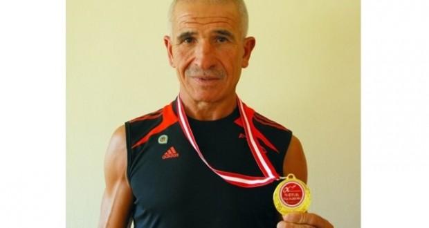 TSYD'li atlet rekor kırdı